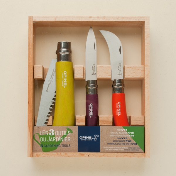 Gardeners colourful box set from Opinel