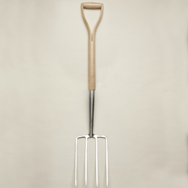 Garden Digging Fork - Ash handle & shaft